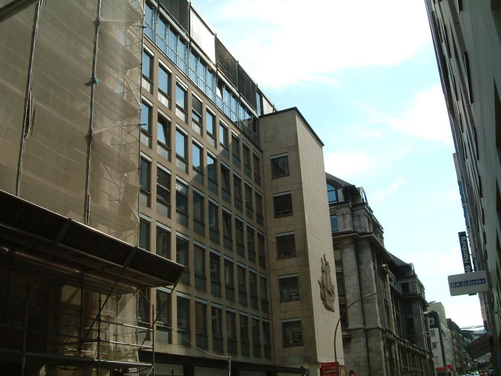 Kontorhausflächen nahe der Binnenalster